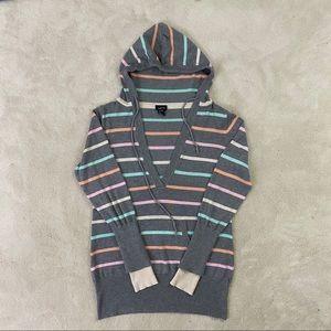 Rue 21 Women Hoodie Sweatshirt Front Pocket Sz XL
